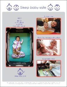 Sleep Baby Safe Table Talk Sheets