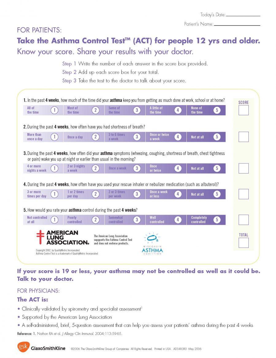 Take the Asthma Control Test