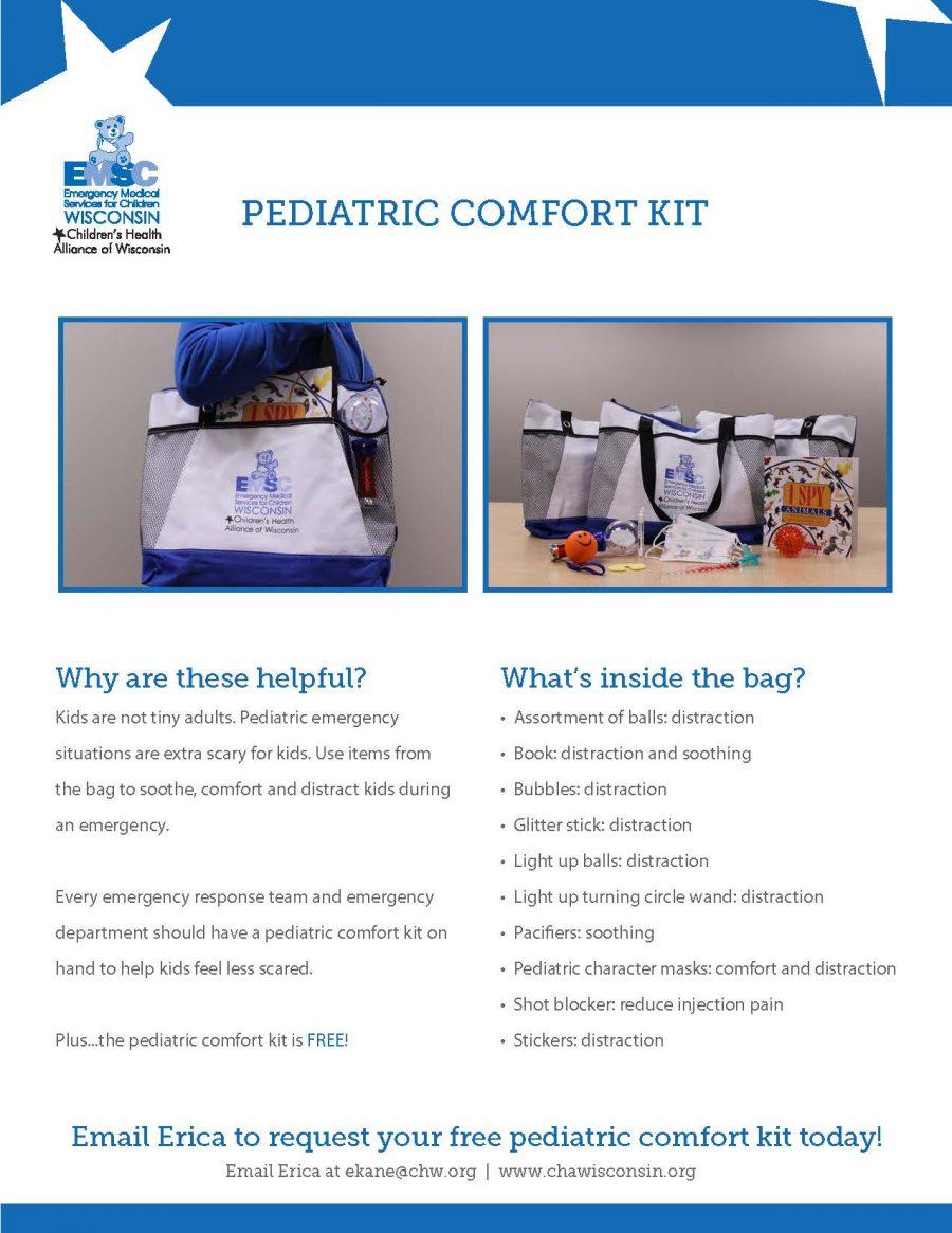 Pediatric Comfort Kit