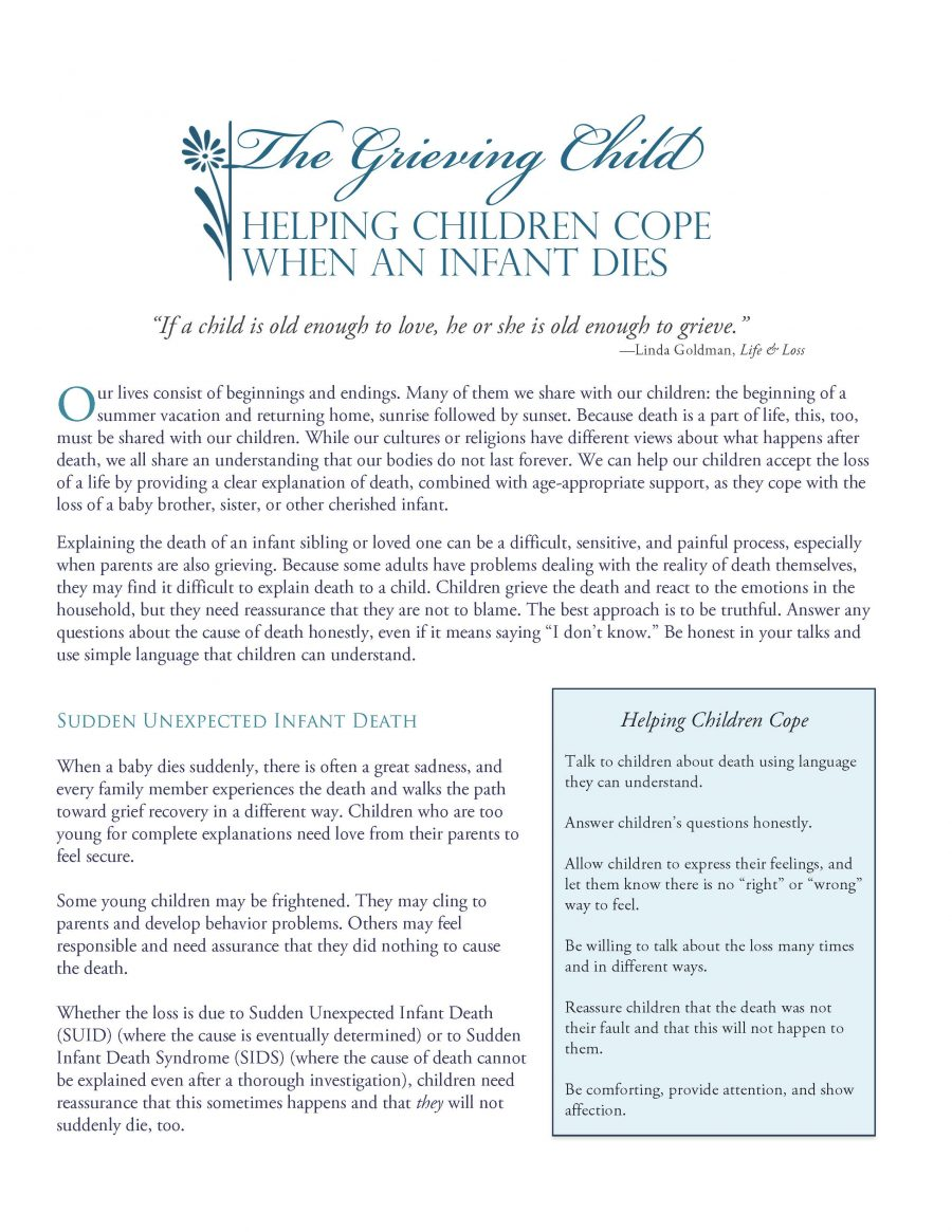 Grieving Child-Helping Children Cope