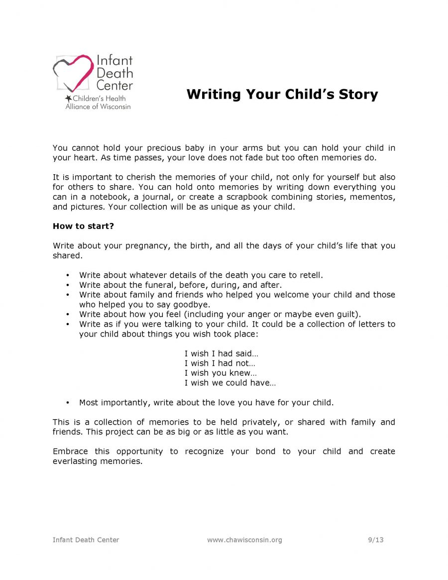Writing Your Child