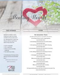 Healing Hearts Newsletter