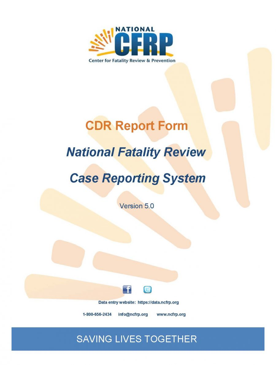 Child Death Review Report Form