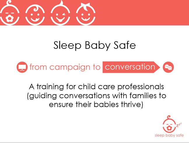 SBS Training for Child Care Providers