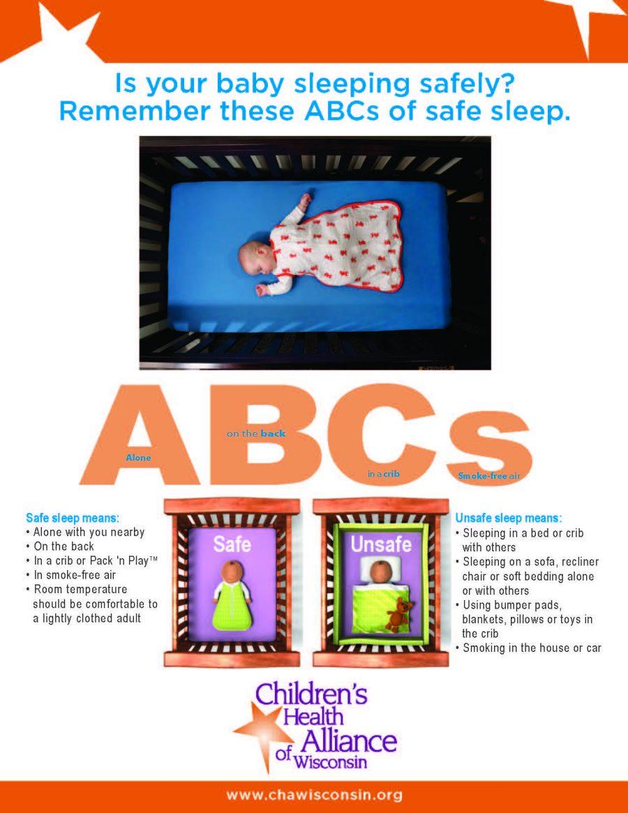Safe Sleep ABCs Poster
