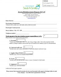 Seal-A-Smile Reimbursement Request Form
