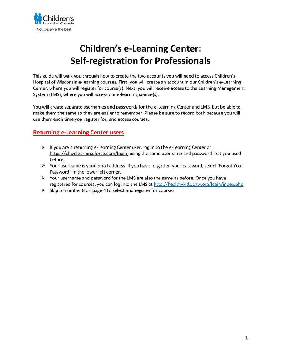 HSMB Training Registration Guide