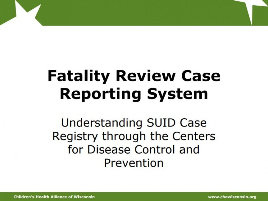 SUID Case Registry Overview