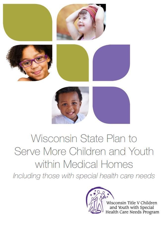 Wisconsin State Plan to Serve More Children and Youth within Medical Homes