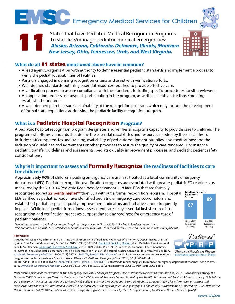 EMSC Fact Sheet